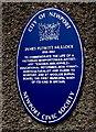 ST2987 : James Flewitt Mullock (1818-1892) blue plaque, Newport by Jaggery