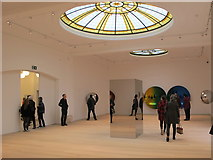 TQ1780 : Pitzhanger Gallery interior with Anish Kapoor exhibition by David Hawgood