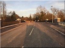 SP7288 : New road bridge by Dave Thompson