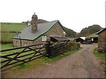 SS8129 : Farmhouse at Smallacombe by Roger Cornfoot
