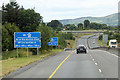 S5715 : M9 Motorway, north of Junction 12 by David Dixon