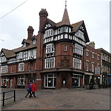 SO8318 : Corner house, Westgate Street/College Street, Gloucester by Rudi Winter