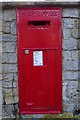 SP1037 : An old letterbox by Philip Halling