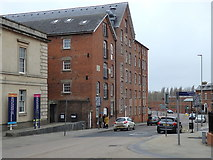 SO8218 : City Flour Mills, Gloucester by Rudi Winter