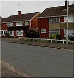 ST3091 : Neighbourhood Watch notice on a Larch Grove lamppost, Malpas, Newport by Jaggery