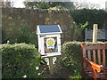 NT2576 : Little Free Library at Starbank Park by M J Richardson