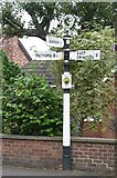 SK7476 : Old Direction Sign - Signpost by Milestone Society