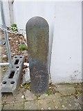 TQ2772 : Old Boundary Marker by Milestone Society