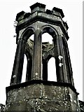 NS3881 : Tullichewan Stables Cottage Bell Tower by Raibeart MacAoidh