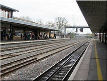 SP5006 : Oxford Station Looking Southwards by Roy Hughes