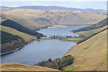 NT2320 : Lochs in view from East Muchra Hill by Jim Barton