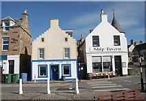NO5603 : Empty shop and Ship Tavern by Richard Sutcliffe