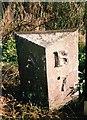 NU1623 : Old Milepost by IA Davison