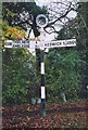 NY2723 : Old Direction Sign - Signpost by Milestone Society