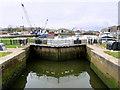 SD4456 : Glasson Dock Lock Gates by David Dixon