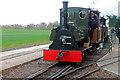 SK2406 : Statfold Barn Railway - departure from Oak Tree Halt for Statfold Junction by Chris Allen