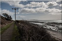 NO4202 : Fife Coast Path at Lower Largo by Becky Williamson