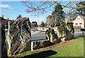 SP3618 : Standing Stones on the Corner by Des Blenkinsopp