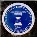 ST1190 : English Congregational Church blue plaque, Senghenydd by Jaggery