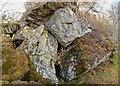NH6629 : Cave below Brin Rock by valenta