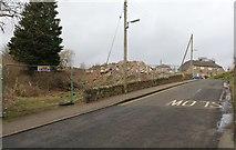 NO4102 : Demolition site, Lower Largo by Bill Kasman