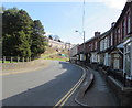 ST1190 : Houses at a bend in the road, Senghenydd by Jaggery