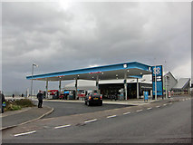 NG6423 : New petrol station open! by Richard Dorrell