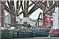 J3575 : Wind turbine parts, Harland & Wolff, Belfast  -  March 2019(1) by Albert Bridge