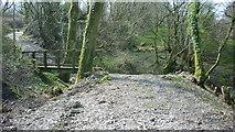 SS6644 : Lynton and Barnstaple Railway - Disused Trackbed near Parracombe by Barrie Cann