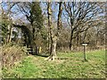 SU9227 : Path junction beside Colemans Copse by Chris Thomas-Atkin