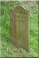 SJ8965 : Old Milemarker by the Macclesfield Canal, Congleton Parish by Milestone Society
