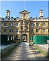 TL4458 : Building work at Clare College by John Sutton