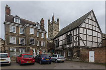 SO8318 : 6 Millers Green and Church House by Ian Capper