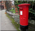 SU1868 : King George VI pillarbox, Bath Road, Marlborough by Jaggery