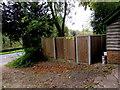 SU1868 : Littlefield House electricity substation, Marlborough by Jaggery