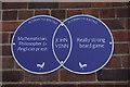 TA1028 : Alternative Heritage Blue Plaque by Ian S
