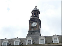 SE2933 : The old post office, City Square, Leeds - clock tower by Stephen Craven