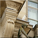 SE2933 : The old post office, City Square, Leeds - pigeon deterrence by Stephen Craven