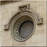 SE2933 : Aspire, Infirmary Street, Leeds - round window by Stephen Craven