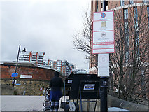 SE2933 : No stopping, Wharf Approach, Leeds by Stephen Craven