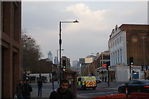TQ3179 : View of the Walkie Talkie from Baylis Road by Robert Lamb