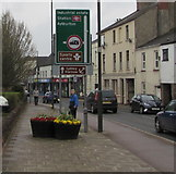 SO6302 : High Street direction signs, Lydney by Jaggery