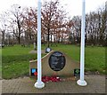 SE1624 : Army Medical Services Monument at Hartshead Services by Gerald England