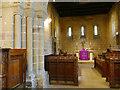 SE2740 : St John's church, Adel - chancel by Stephen Craven