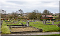 NZ3640 : Graves at Ludworth Road Cemetery by Trevor Littlewood
