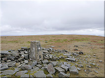 NY6834 : Barren plateau of Cross Fell by James T M Towill