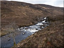 NH1282 : Dundonnell River by valenta