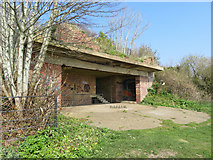 TR3140 : WWII gun defence at the Western Heights, Dover by Gareth James