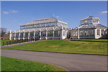 TQ1876 : The Temperate House, Kew Gardens by Stephen McKay