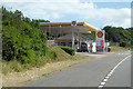 SX9185 : Devon Expressway, Telegraph Hill Service Station by David Dixon
